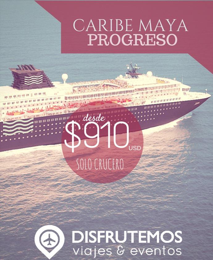 Cruceros Caribe Maya