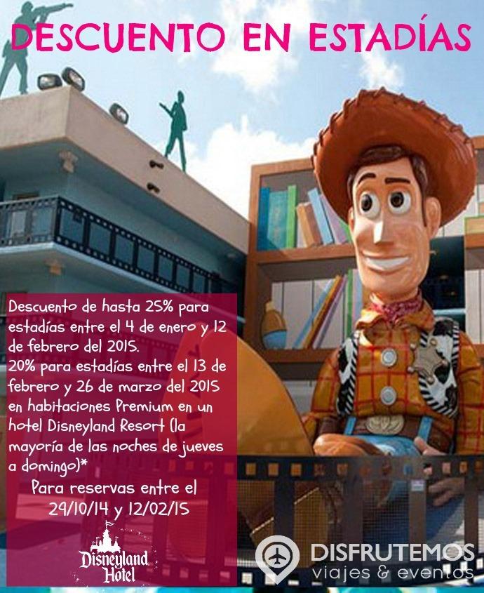 Disney - Descuento en estadias
