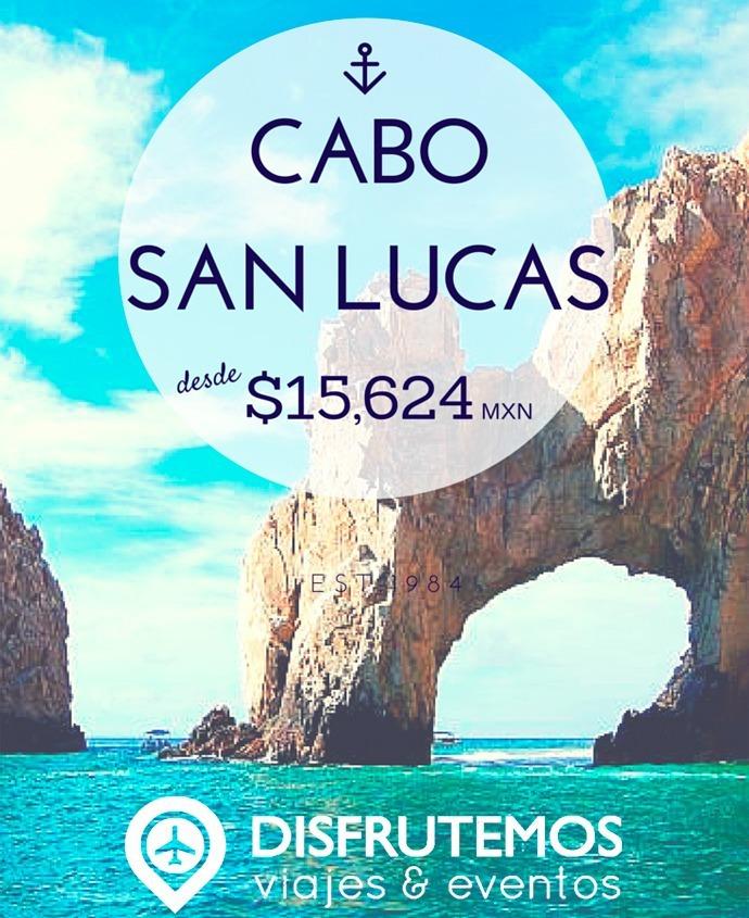 Paquete Cabo San Lucas